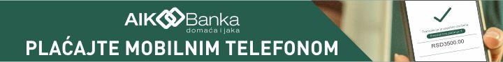 728X90 BANNER AIK BANKA