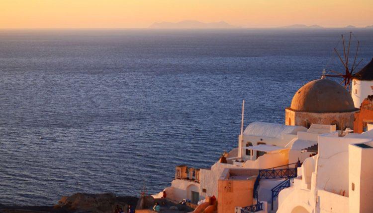 Santorini u Grčkoj