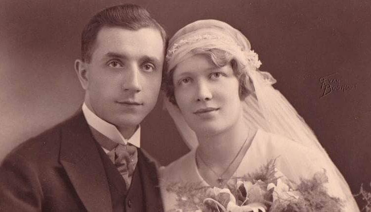 Stara slika bračnog para