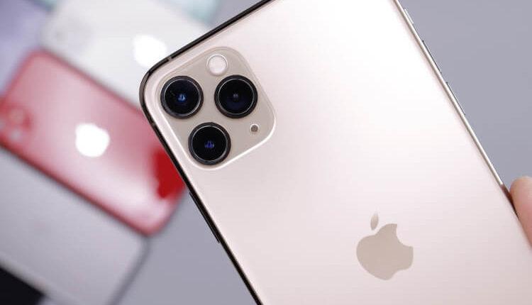 Iphone 11 svetlo roze boje sa tri kamere