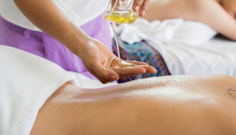 Masiranje leđa sa uljem